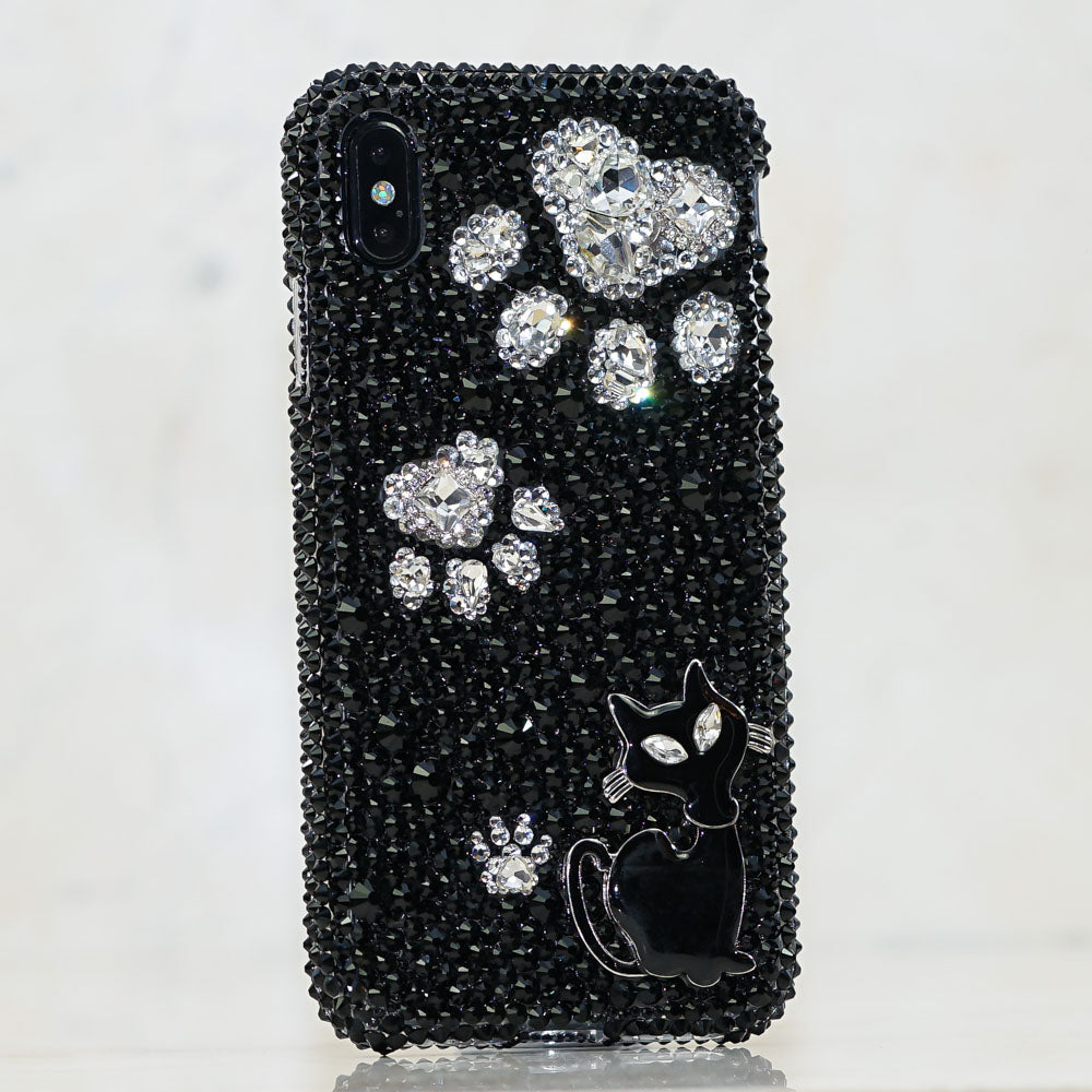 black cat iphone xs max case
