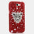 Radiant Red Leopard Design case made for Samsung Note 2