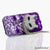 Lavendar Feline Design case made for iPhone 5 / 5S
