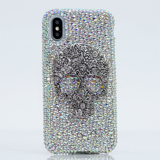 Skull Bling iphone X case