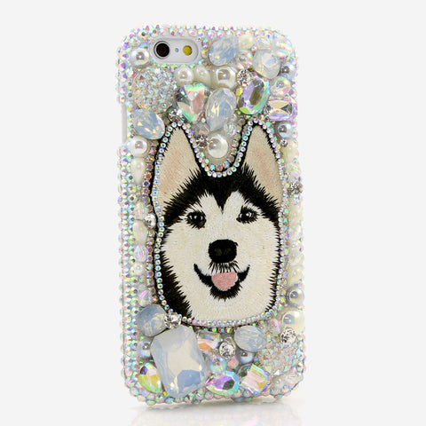 Husky Design crystals bling case made for iphone 6