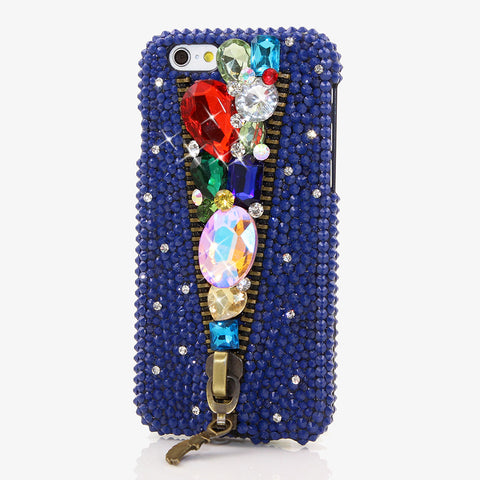 BEJEWELED IN YOUR BLUE JEANS Design case made for iPhone 6 / 6s