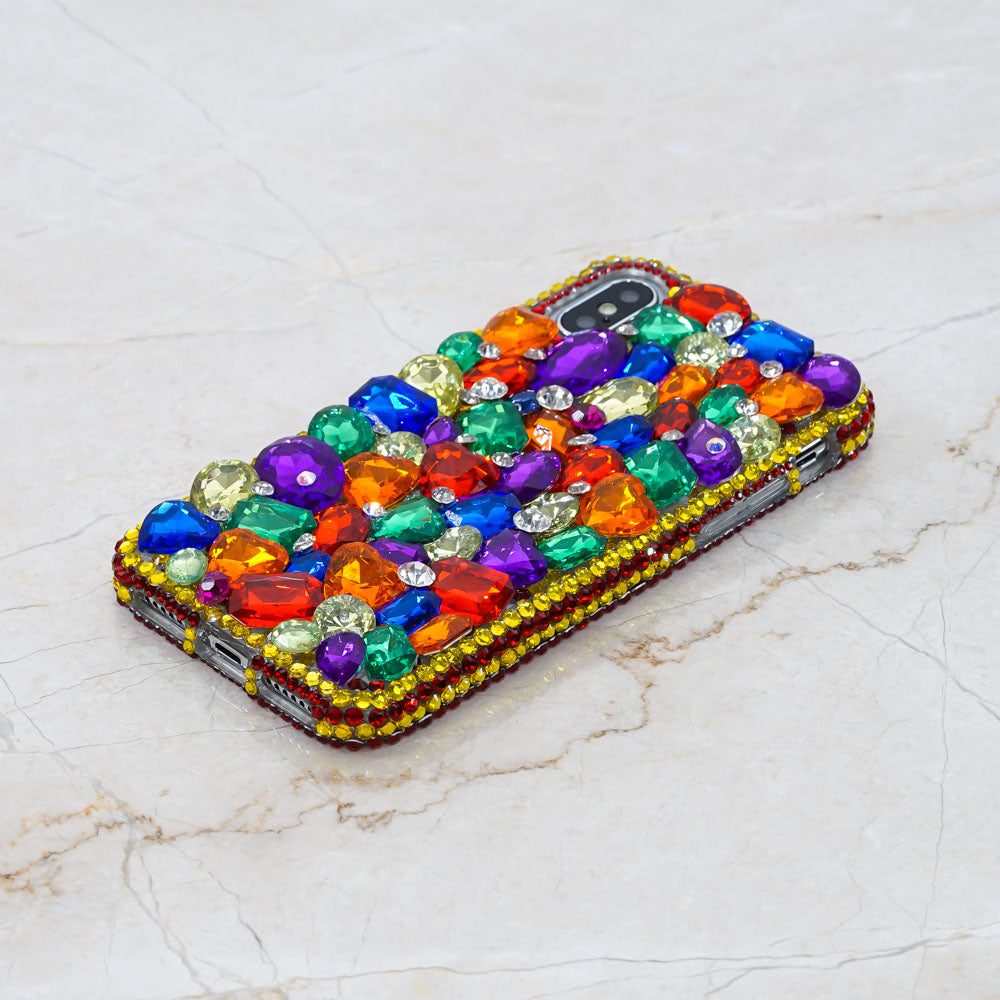 rainbow bling iphone Xs Max case