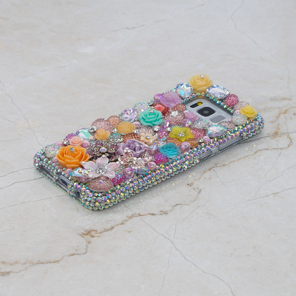 flowers Samsung Galaxy S9 case