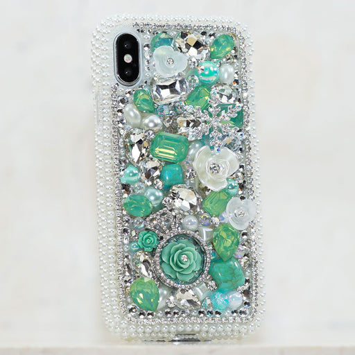 bling pearl iphone xr case