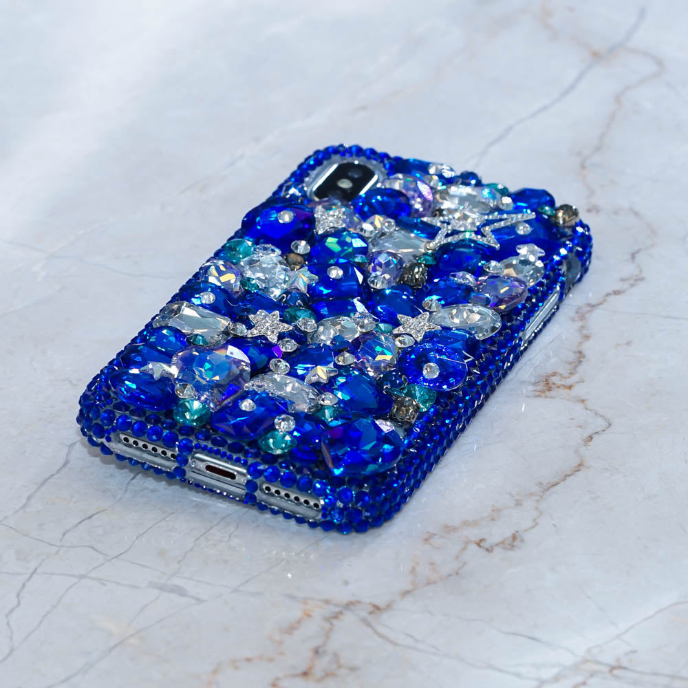 blue star iphone xs case