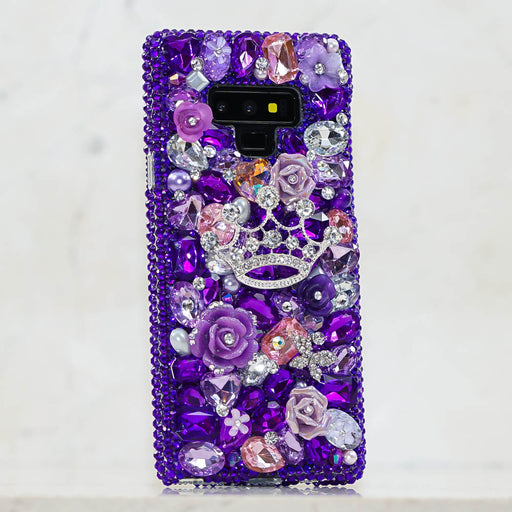 Purple crown iphone xs max case