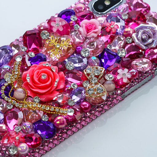 pink floral iphone Xr case