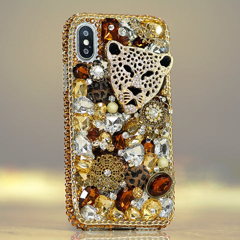 leopard cheetah iphone X case