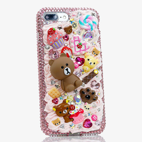 line bear iphone 8 plus case