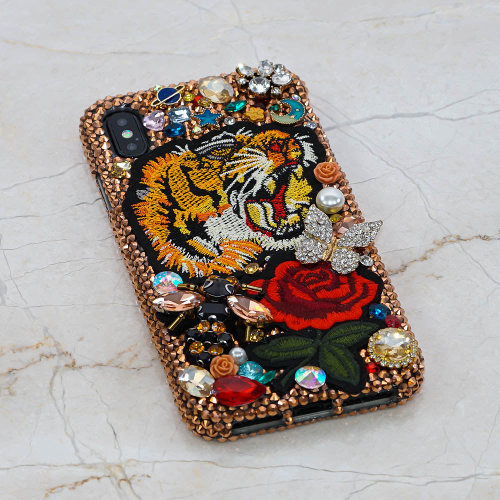 tiger iphone xs case