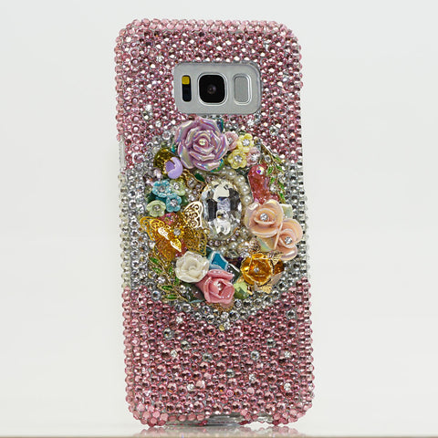 rose samsung note 9 case