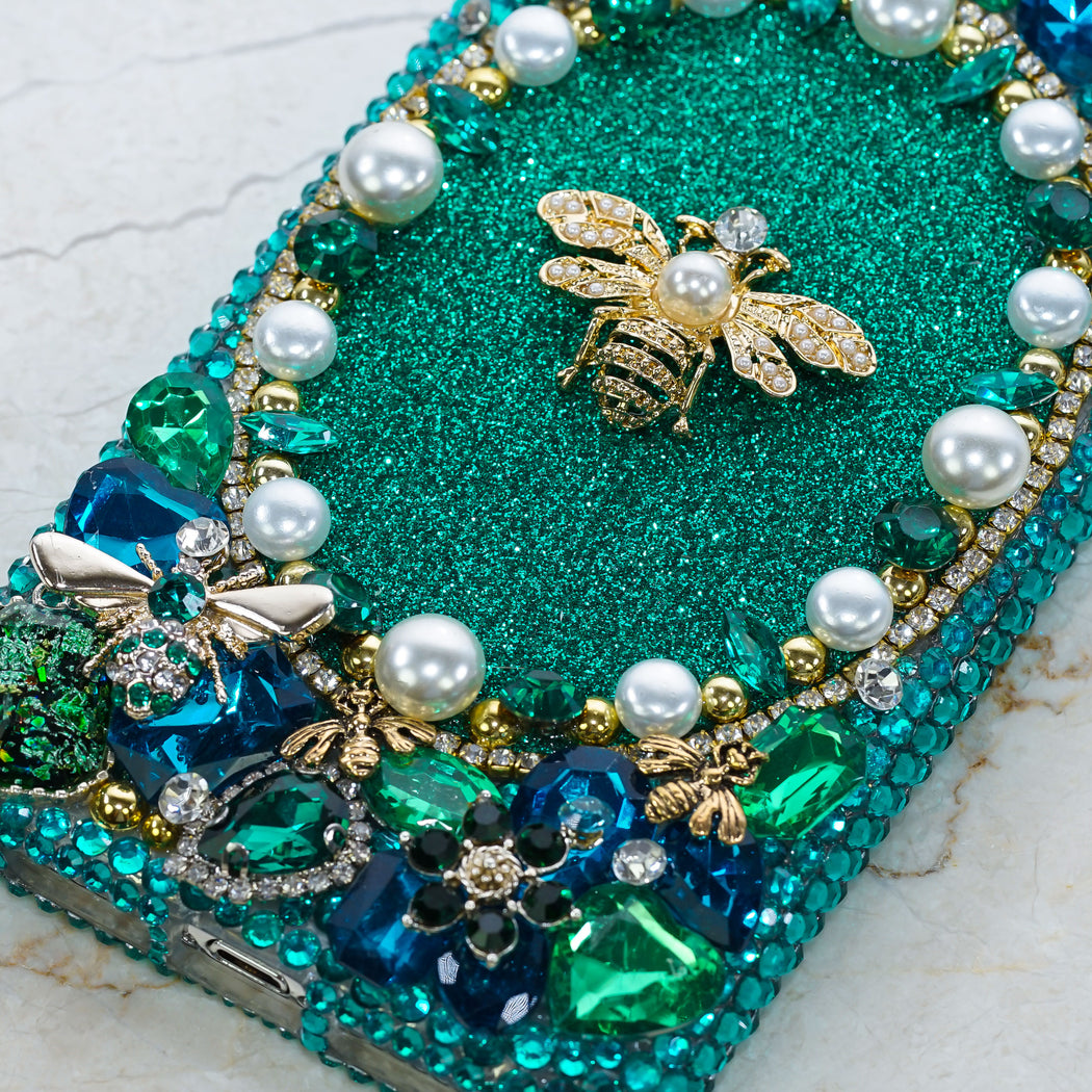 honey bee pearls samsung Note case
