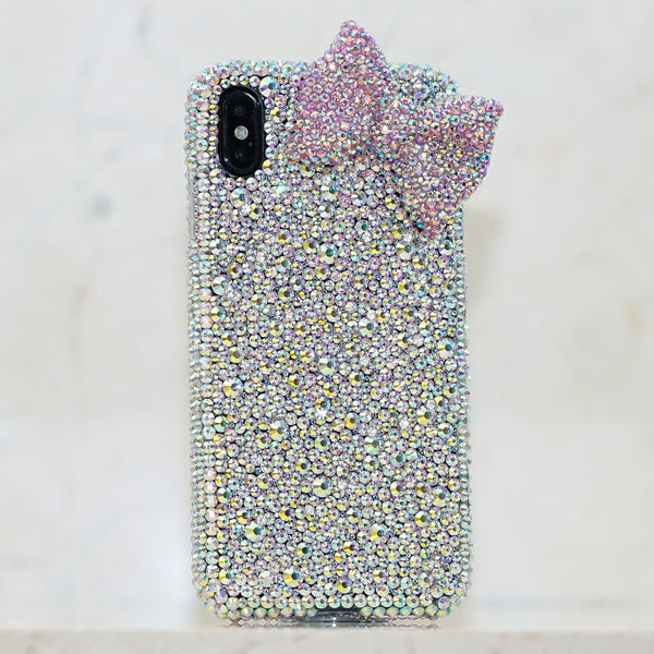 AB crystals iphone Xs max case