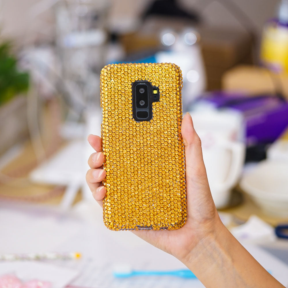 gold samsung S8 plus case