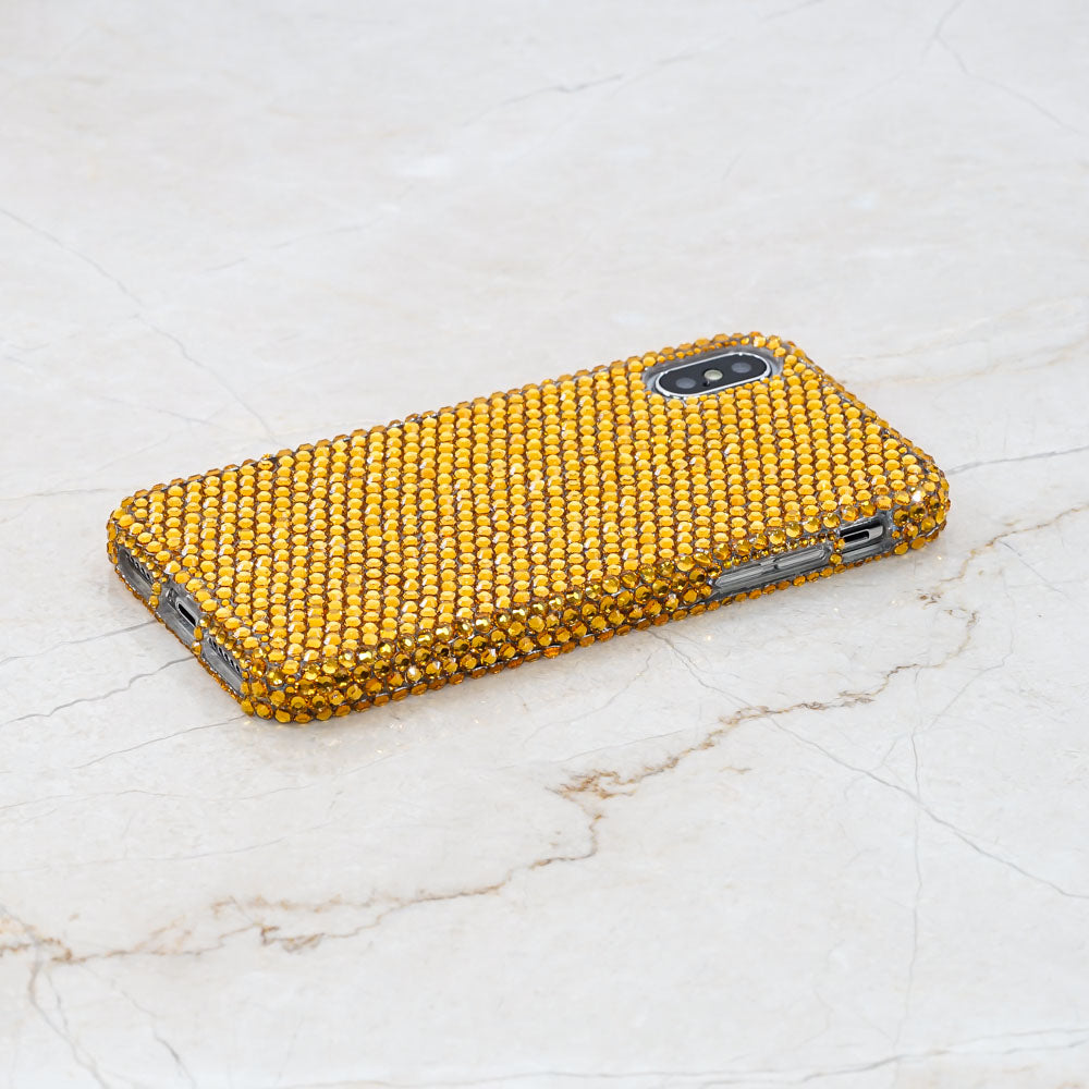 gold iphone xr case