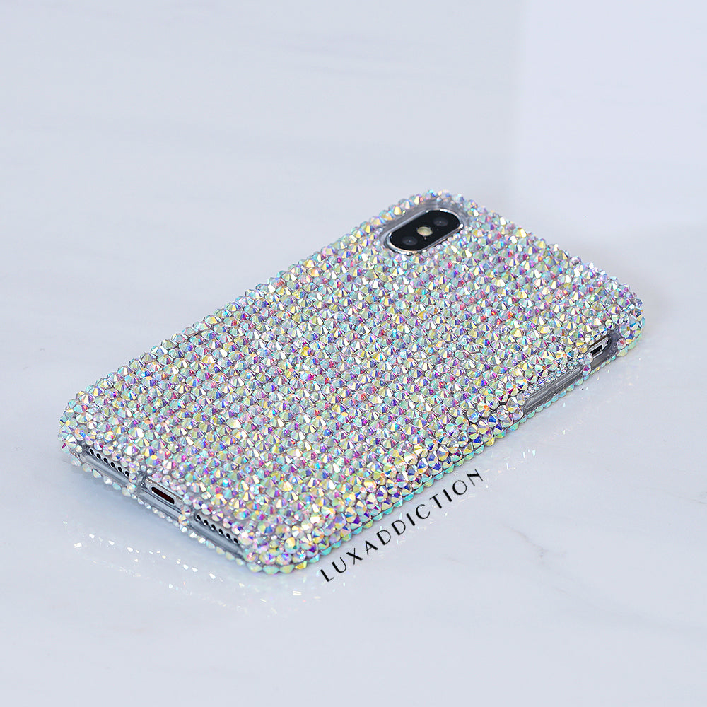 AB crystals bling iphone X case