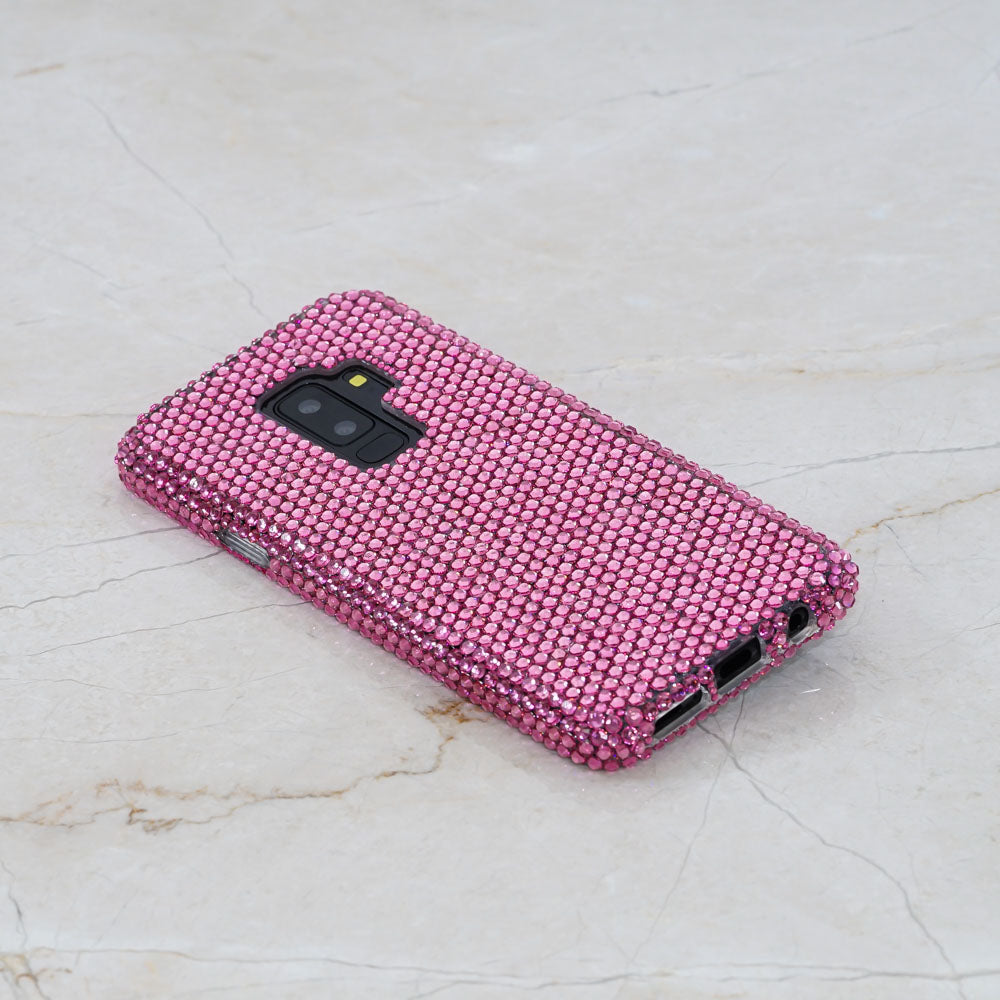 pink crystals samsung note 9 case