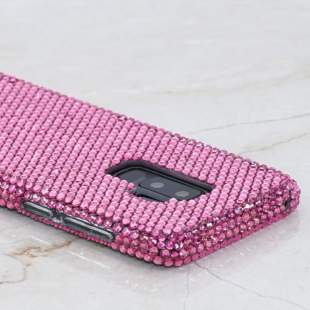 pink bling samsung note 9 case