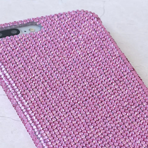 HOT Pink Crystals iphone 7 / 8 plus case