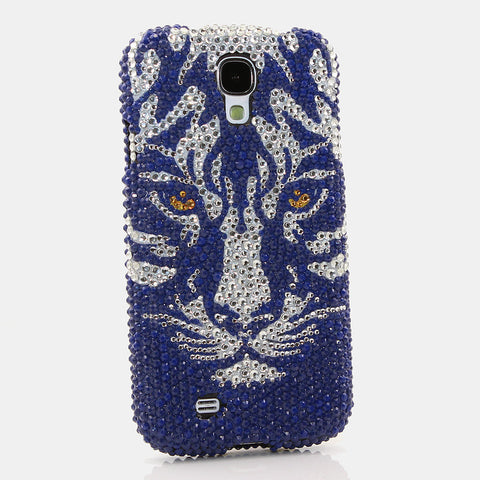 Blue Tiger Design case made for Samsung Galaxy S4