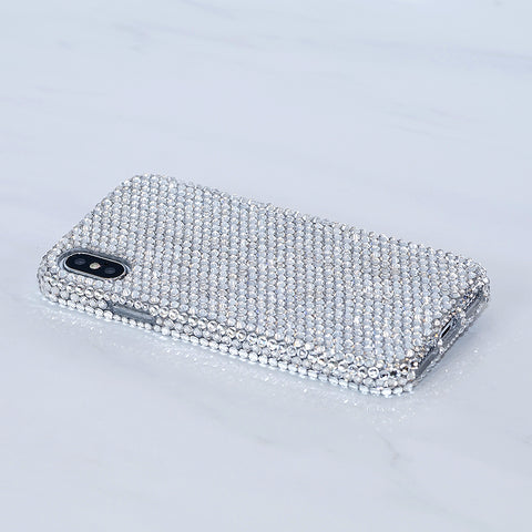 Genuine Clear Crystals case for iphone x