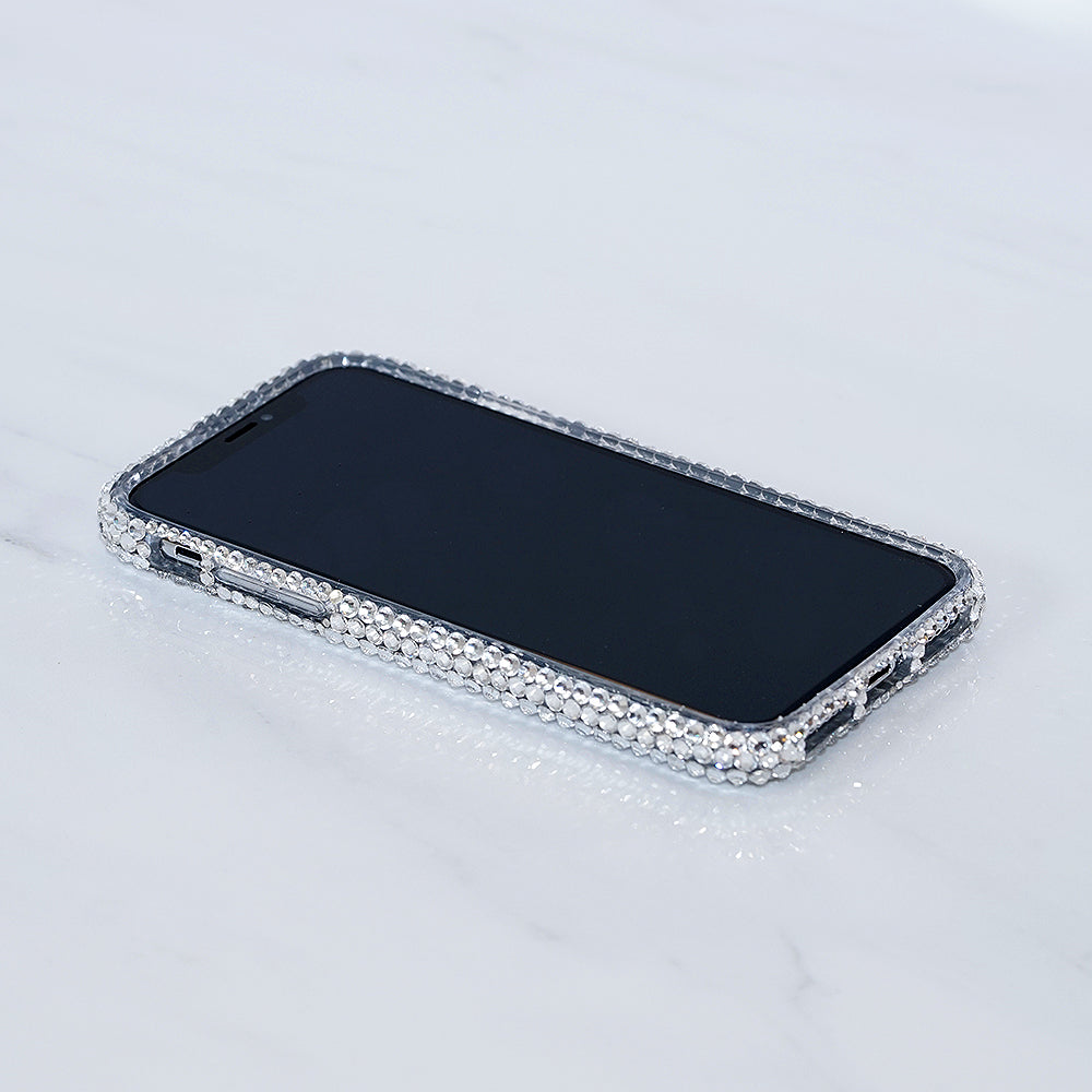 Genuine Clear Crystals iphone X case