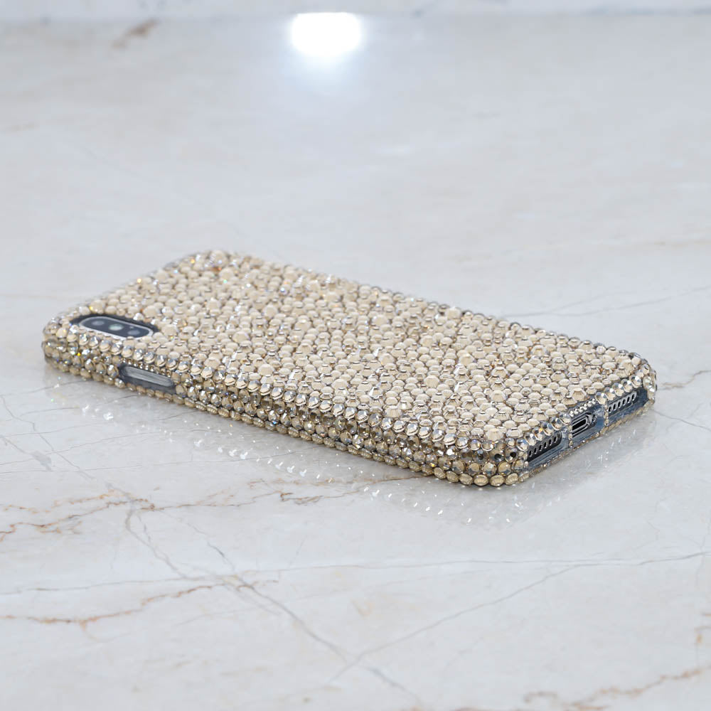 Genuine Champagne Crystals With Mixed Sizes Design (style 955)