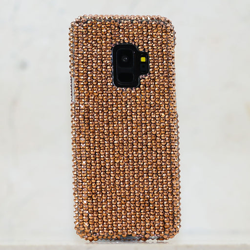 copper crystals samsung galaxy s9 plus case