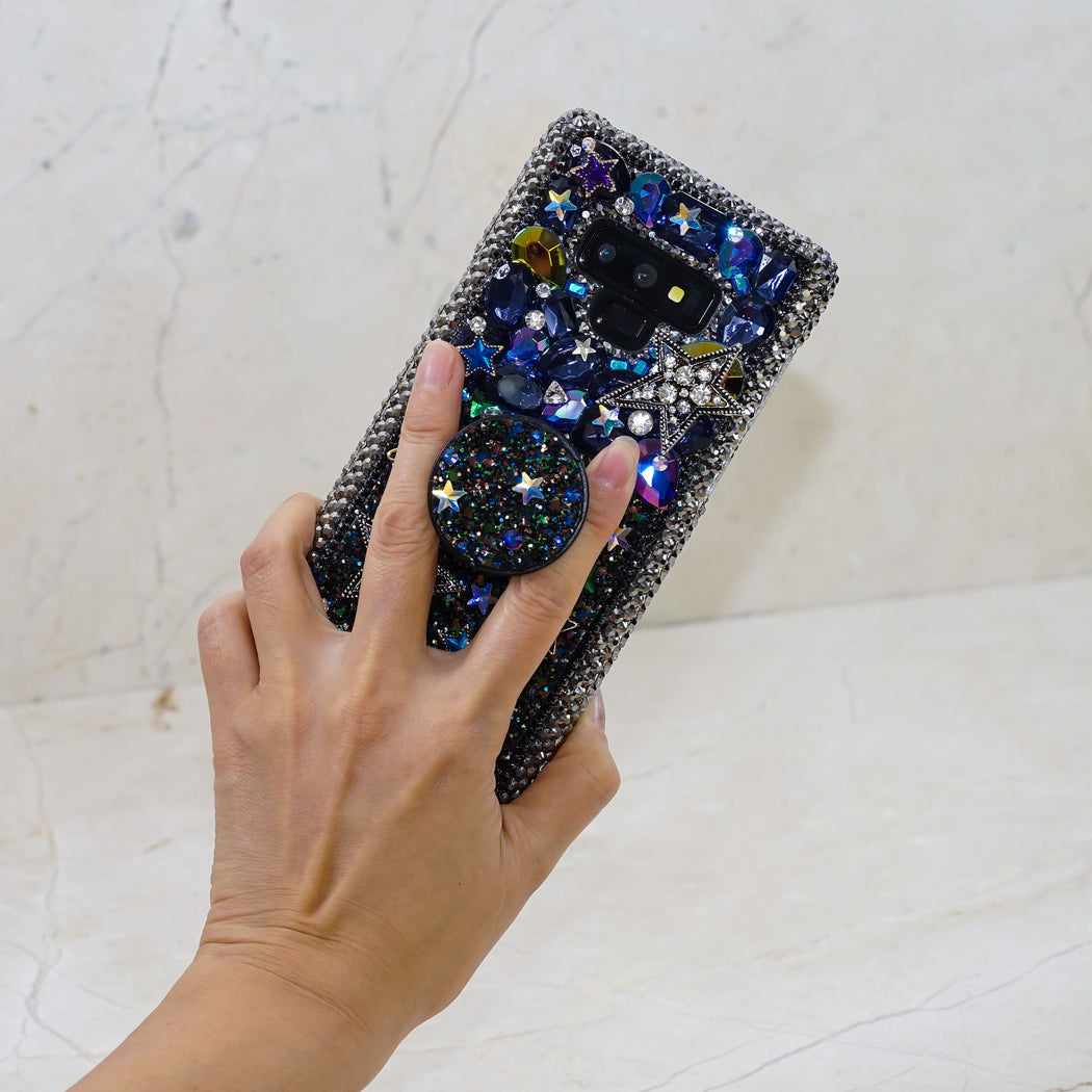 crystals popsockets phone grip