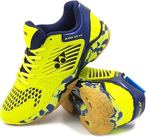 Yonex Super Ace Light Badminton Shoe Yellow UK 8