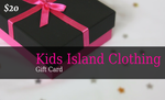 Kids Island Clothing Gift Card