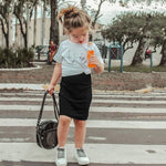 Toddler Knitted Pencil Skirt