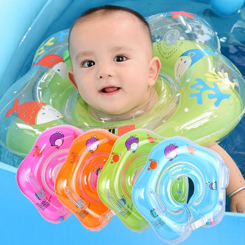 Safety Infant Inflatable Floating Tube for Bathing