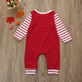 Baby Boy Girl My First Christmas Jumpsuit Romper