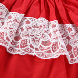 Baby Girl Off the Shoulder Lace Top and Bloomers Outfit Set