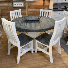 Load image into Gallery viewer, Slate Round Dining Set