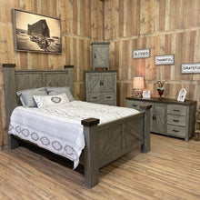 Load image into Gallery viewer, Weathered Farmhouse Bedroom