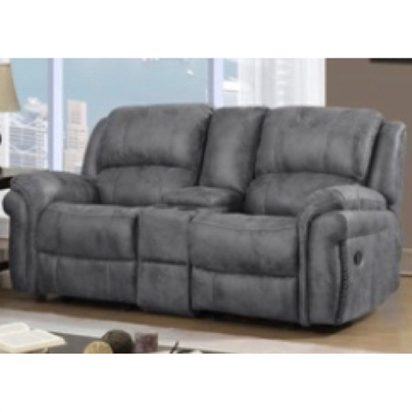 Charcoal Gray Loveseat