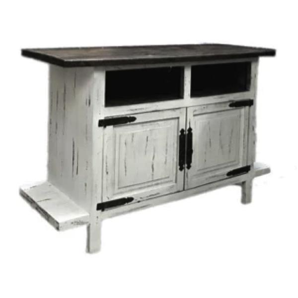 Gatlinburg TV Stand - Antique White