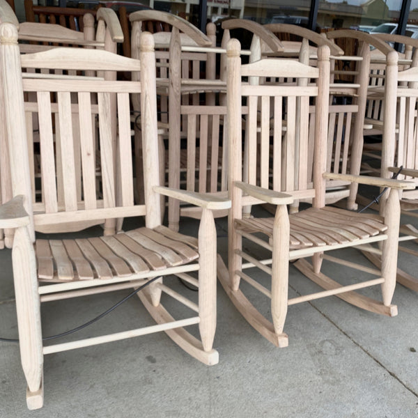 Oak Single Rocker