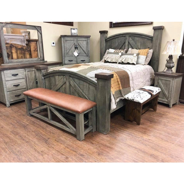 Weathered Farmhouse Bedroom