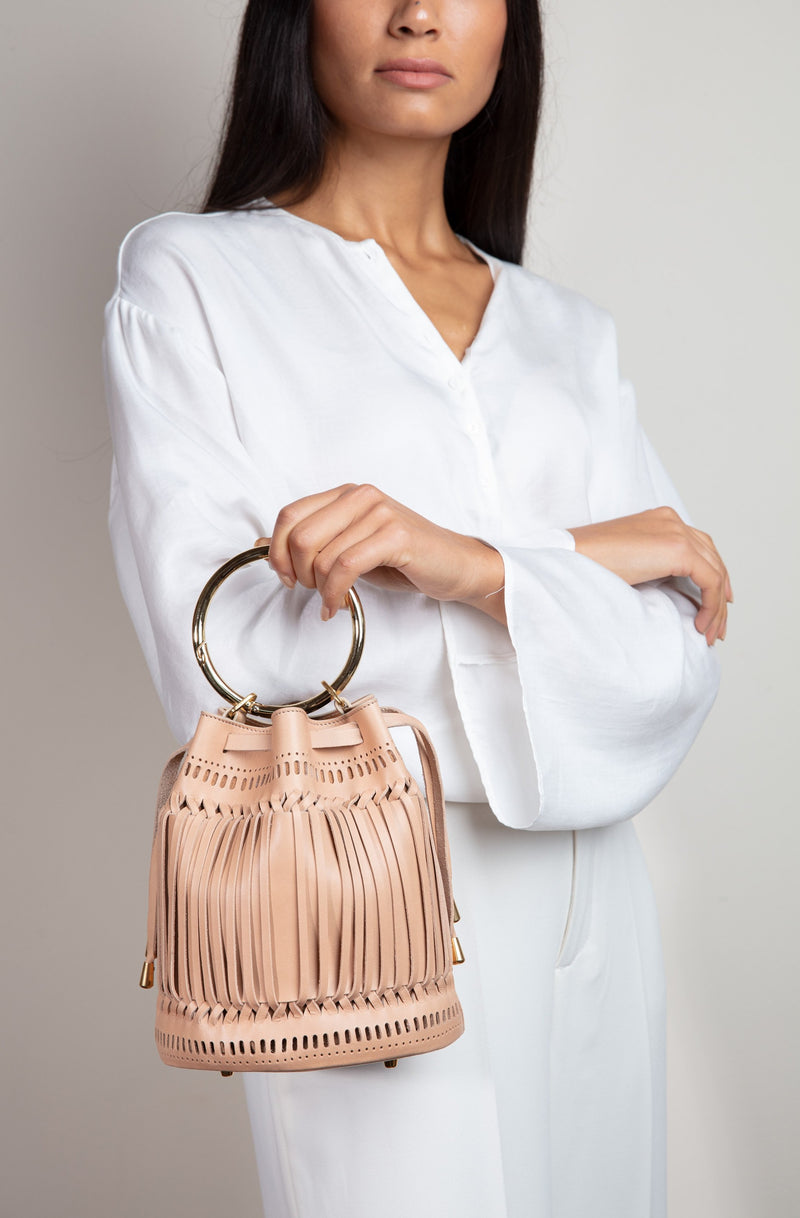Bucket Bag Cream