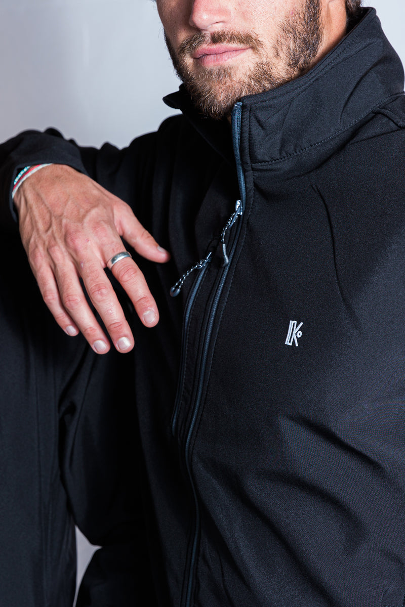 KATXI Veste softshell recyclé «Mendiko» cousue Pays Basque