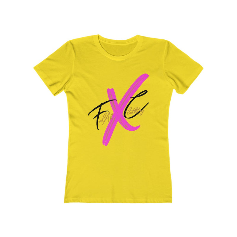 FXC Big Logo Women's Boyfriend Tee