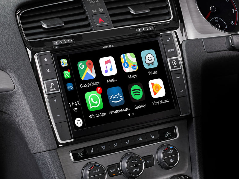 "Alpine i902D-G7R 9"" Mobile Media System for VW Golf 7 