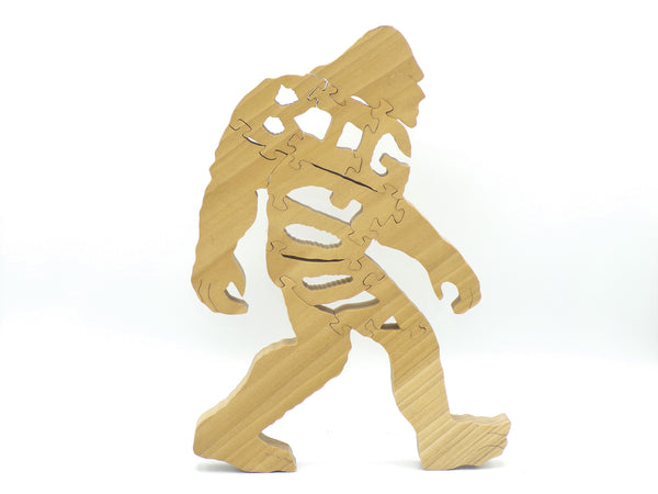 Wooden Bigfoot Jigsaw Puzzle | Hand Cut Puzzle | Animal Puzzle | Bigfoot Toys | Educational Puzzle | Kids Puzzle | Handmade Puzzle