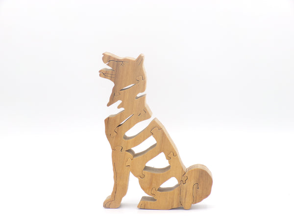 Wooden Dog Mutt Jigsaw Puzzle | Hand Cut Puzzle | Animal Puzzle | Dog Toys | Educational Puzzle | Kids Puzzle | Handmade Puzzle