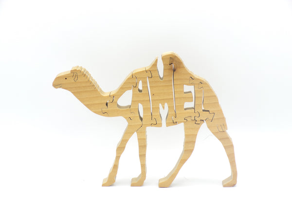 Wooden Camel Jigsaw Puzzle | Hand Cut Puzzle | Animal Puzzle | Camel Toys | Educational Puzzle | Kids Puzzle | Handmade Puzzle