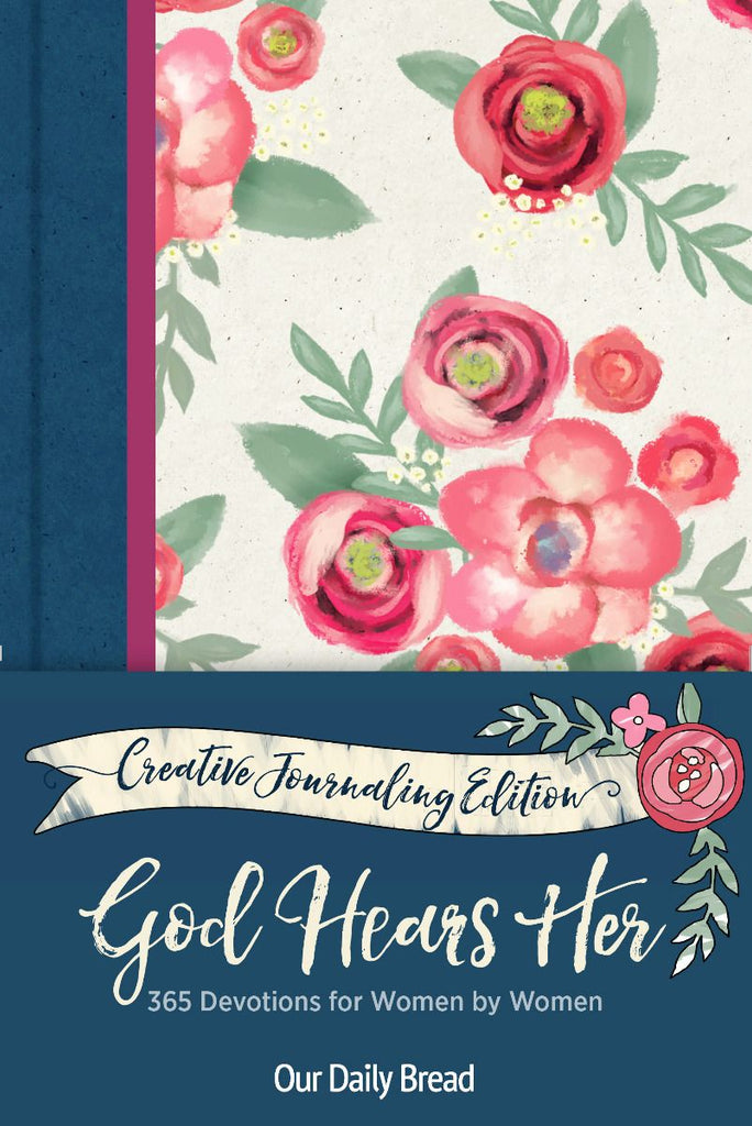 God Hears Her Creative Journaling Edition
